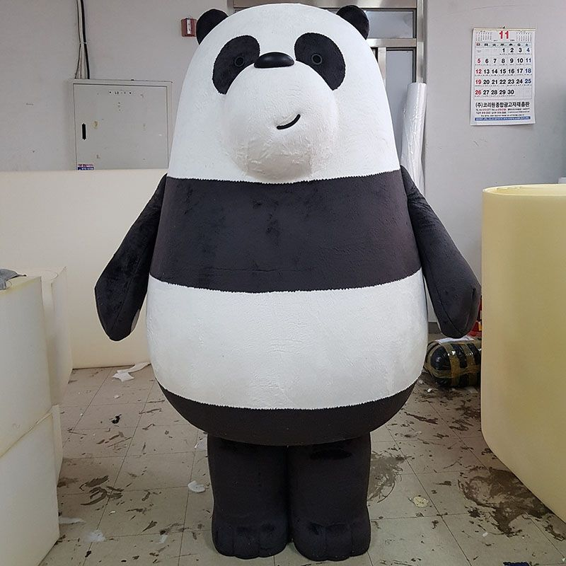 We Bare Bears | Panda | Grizzly | white Ice Bear | Duoguo Mascot Costumes