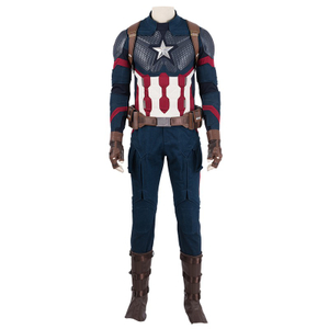 Captain America Avengers: Endgame Marvel Cosplay Costumes